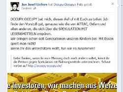 Jan Joseph Liefers unterstützt die Petition auf facebook