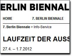 Occupy:Occupy auf der Biennale 2012