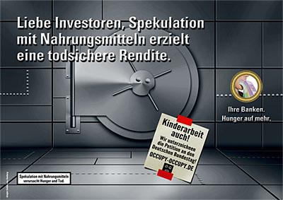 Ihre Banken — Hunger auf mehr (Motiv 3)