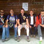 Männer mit dicken Backen: Kleinbeuthen, Martin (rechts) stösst zu uns.