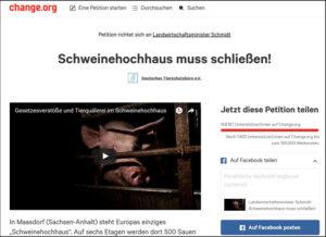 Petition gegen Schweinehochhaus